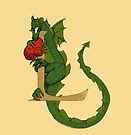 "Oscar and the Roses ""L - Tail"" (Illustrated Alphabet) by Donna Huntriss"