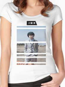 Young Forever: Jimin Women's Fitted Scoop T-Shirt