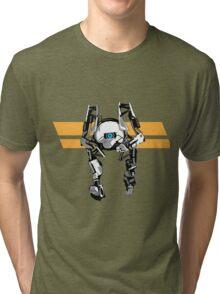 Portal 2 - Short Robot Tri-blend T-Shirt