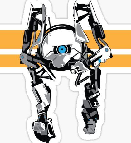 Portal 2 - Short Robot Sticker