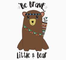Woodland Brave Bear Kids Tee