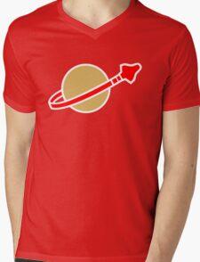 LEGO Classic Spaceman Mens V-Neck T-Shirt