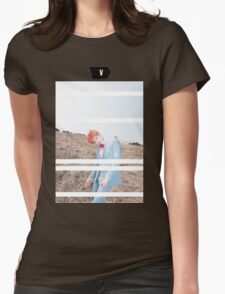 Young Forever: V Womens Fitted T-Shirt
