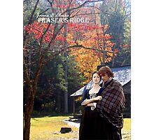 Outlander/Jamie & Claire on Fraser's Ridge. Photographic Print