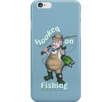 Hooked On Fishing iPhone Case/Skin