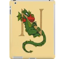 "Oscar and the Roses ""N"" (Illustrated Alphabet) iPad Case/Skin"
