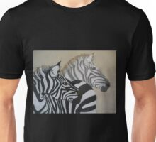 Two's Company (zebras together) Unisex T-Shirt