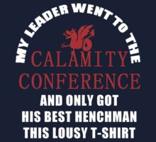 21's- Calamity Conference T-Shirt One Piece - Short Sleeve