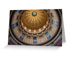 Capitol Dome (Lansing, Michigan) Greeting Card