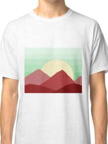 Red Land, Green Skies Classic T-Shirt