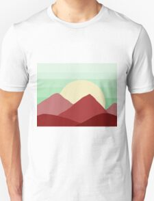 Red Land, Green Skies T-Shirt