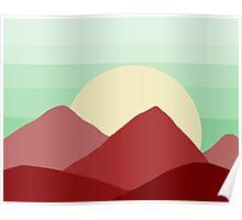 Red Land, Green Skies Poster