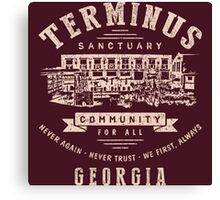 Terminus The Walking Dead Canvas Print
