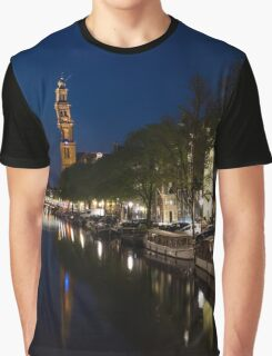 Amsterdam Blue Hour Graphic T-Shirt
