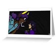 Naga Vincent and Violet Greeting Card