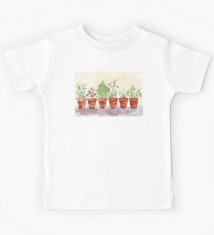 Herbs - Inside or outside? Kids Tee