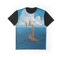 Wind Waker-Lone Ocean Remastered! Graphic T-Shirt