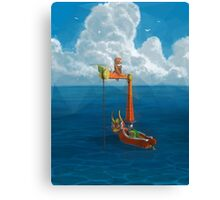 Wind Waker-Lone Ocean Remastered! Canvas Print