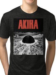 AKIRA - BLAST (WHITE) TSHIRT Tri-blend T-Shirt