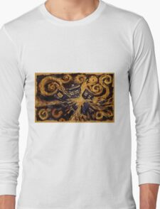 Doctor Who- Van Gogh Exploding Tardis Long Sleeve T-Shirt