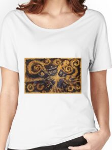 Doctor Who- Van Gogh Exploding Tardis Women's Relaxed Fit T-Shirt