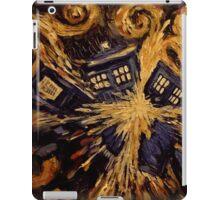 Doctor Who- Van Gogh Exploding Tardis iPad Case/Skin