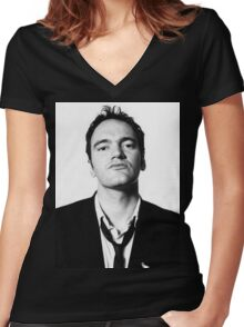 Tarantino Women's Fitted V-Neck T-Shirt