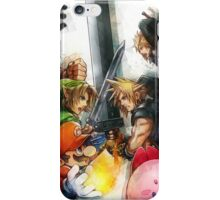 Cloud Vs Link Polygon Version iPhone Case/Skin