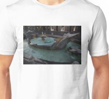 Rome's Fabulous Fountains - Fontana della Barcaccia, Spanish Steps  Unisex T-Shirt