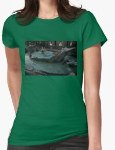 Rome's Fabulous Fountains - Fontana della Barcaccia, Spanish Steps  T-Shirt
