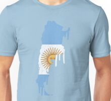 Argentina Paint Drip Unisex T-Shirt