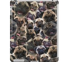 Pugs, not drugs iPad Case/Skin