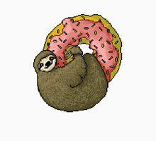 Pixel Sloth and Donut Unisex T-Shirt
