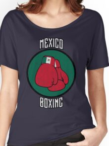 Mexico Boxing Women's Relaxed Fit T-Shirt