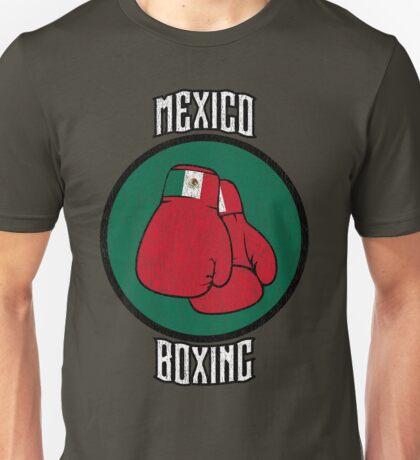 Mexico Boxing Unisex T-Shirt