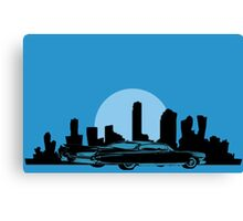 Cadillac Moon Canvas Print