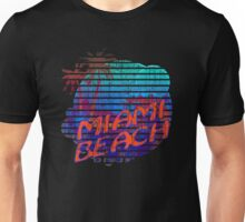"""Miami Beach"" Unisex T-Shirt"