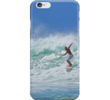 Guy Surfing Puerto Rico iPhone Case/Skin