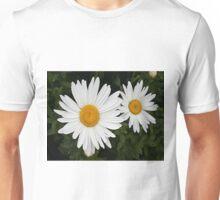 White & yellow daisies Unisex T-Shirt