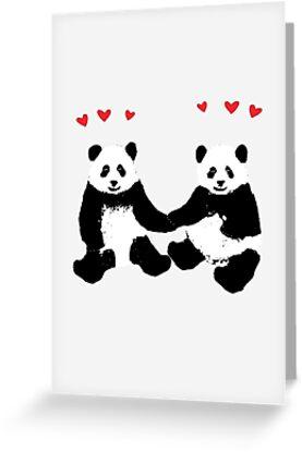 Panda Love by Rob Price