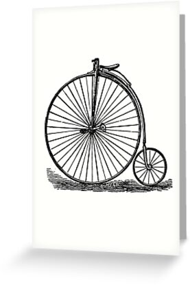 Penny Farthing by Rob Price