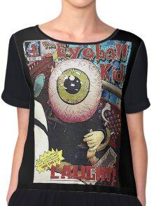 The Eyeball Kid: Comic Cover Chiffon Top
