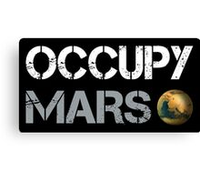 Occupy Mars tees Canvas Print