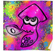 I've Got an Inkling - Pink + Charcoal Poster
