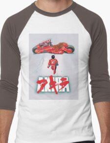 AKIRA - LOGO / ORIGINAL TSHIRT (HIGH QUALITY)  Men's Baseball ¾ T-Shirt