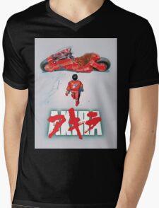 AKIRA - LOGO / ORIGINAL TSHIRT (HIGH QUALITY)  Mens V-Neck T-Shirt