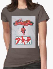 AKIRA - LOGO / ORIGINAL TSHIRT (HIGH QUALITY)  Womens Fitted T-Shirt