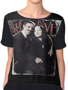 Gomez & Morticia Addams: True Love Chiffon Top