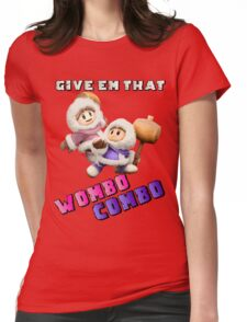 Wombo Combo Ice Climber Smash Bros Womens Fitted T-Shirt