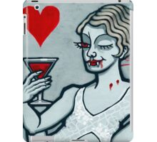 Lucy, Vampire Jack of Hearts iPad Case/Skin